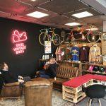 Steel Vintage Berlin bike café by BRN Bernardi Componenti per Ciclo